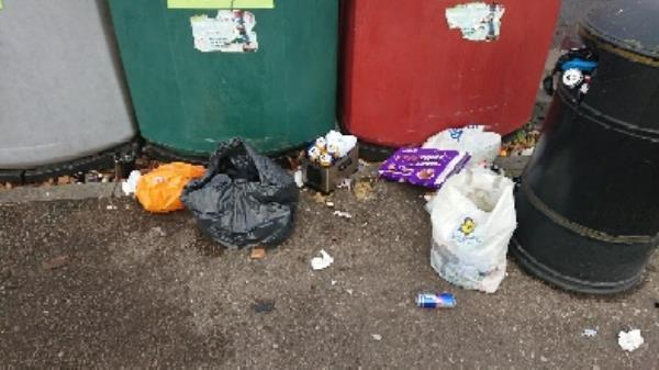 House old waste removed fly tipping -Unit A1 Great Knollys Street, Reading, RG1 7HL