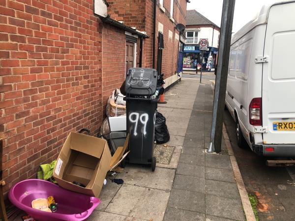 Fly tipping business support officer -81-83 Green Lane Road, Leicester, LE5 3TP