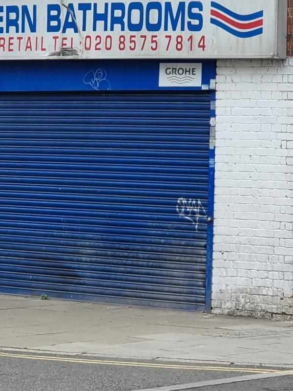 Shop shutters-Freshwater Court Lady Margaret Road, London, UB1 2NY