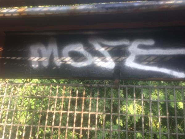 Remove graffiti from Railway bridge-182 Reigate Road, London, SE12 0UX