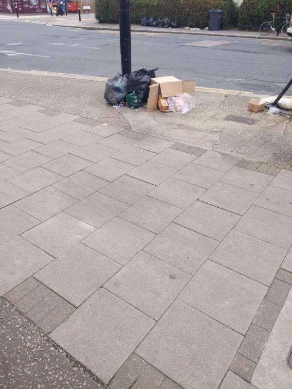 Dumped rubbish-405 Lordship Lane, Tottenham, N17 6AG
