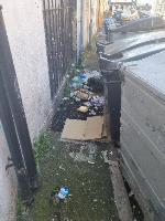 Litter scattered across the road around Elms Avenue. believed to be from 207 Terminus Road  image 2-37 Elms Avenue, Eastbourne, BN21 3DN