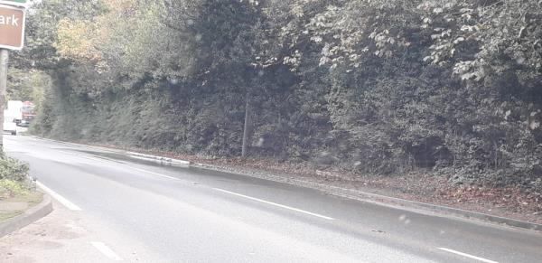 water constantly running onto highway -Whitchurch Road, Malpas, SY14 7DU