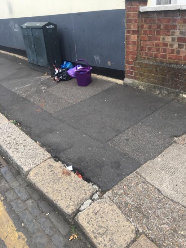 Rubbish -188 Neville Road, London, E7 9QN