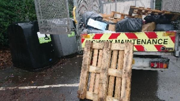 Pallets removedl fly tipping -Southcote Hotel, Southcote Ln, Reading RG30 3AB, UK