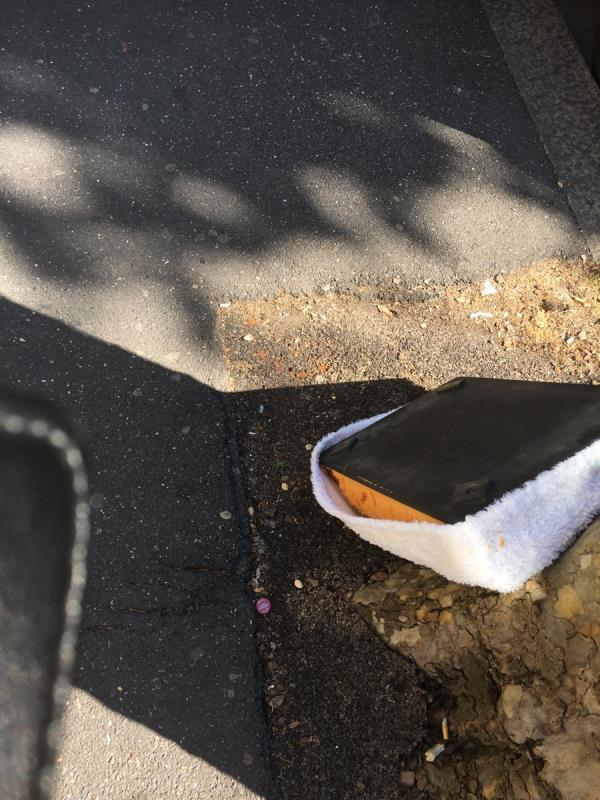 Fly tipping-391 Strone Rd, Manor Park, London E12 6PG, UK
