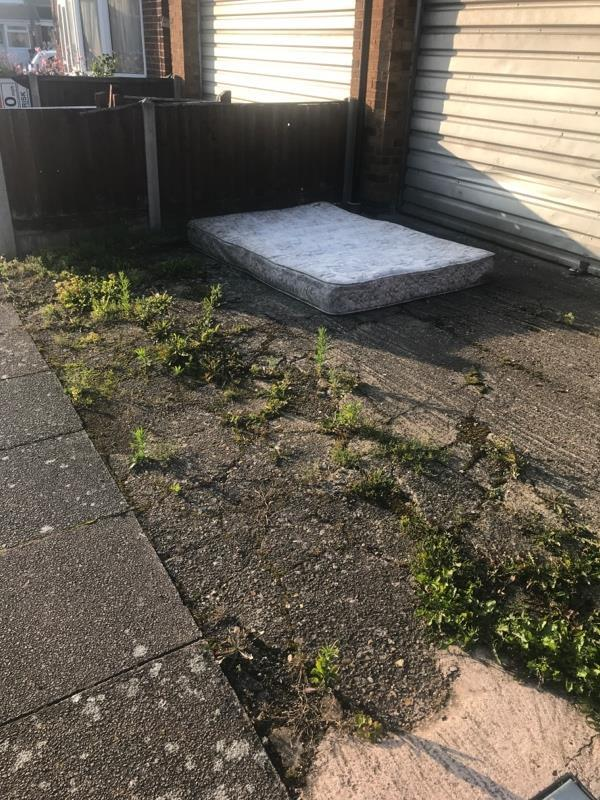 Mattress. Been left here for several weeks.-5 Collingham Road, Leicester, LE3 2BB