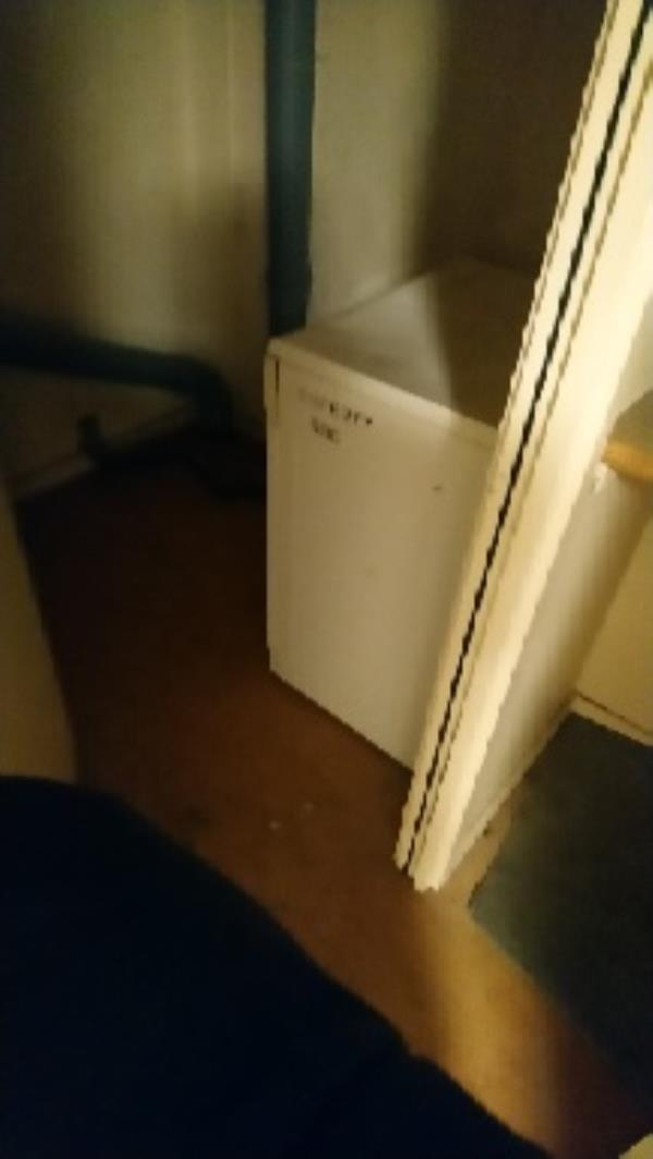 Floor 14 drying room 203 Wensley. Fire officer wants it dumped -317 Wensley Road, Reading, RG1 6EE