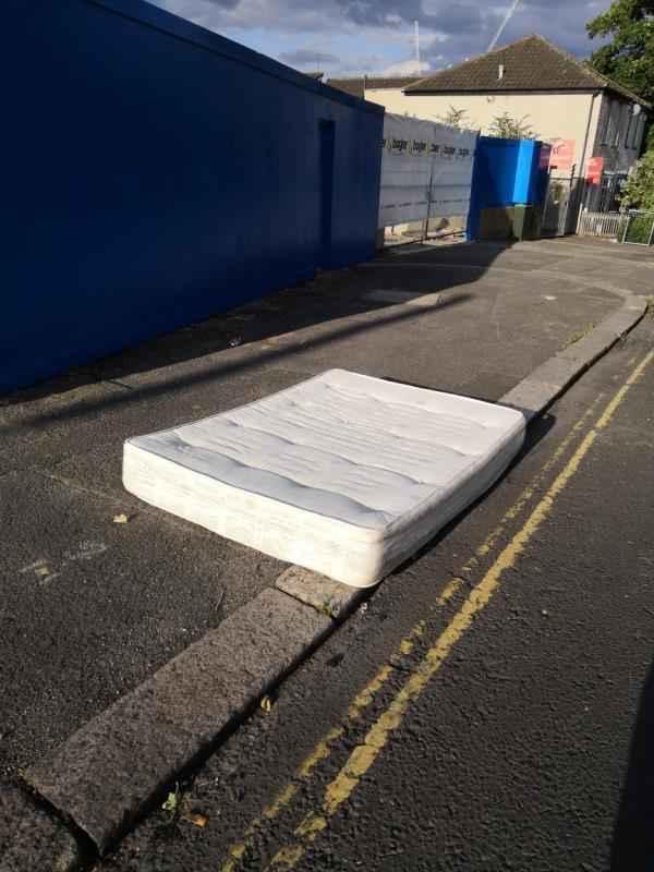 Dumped mattress -122 East Acton Lane, Acton, W3 7ER