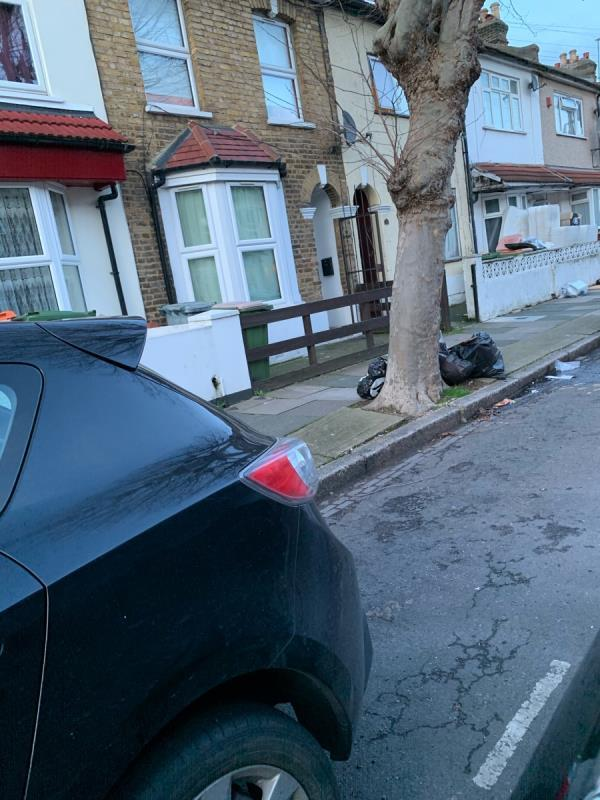 Flytipping-33 Colegrave Road, London, E15 1DZ