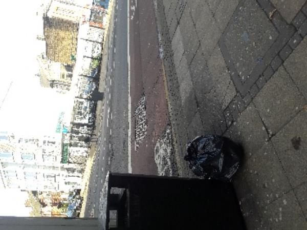 Fly-tipping, 32 Romford Road, Stratford Original Ambassador MK-21-25 Romford Road, London, E15 4LW