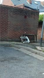 rubbish  in council garage  area image 1-14 Cholmeley Place, Reading, RG1 3NH