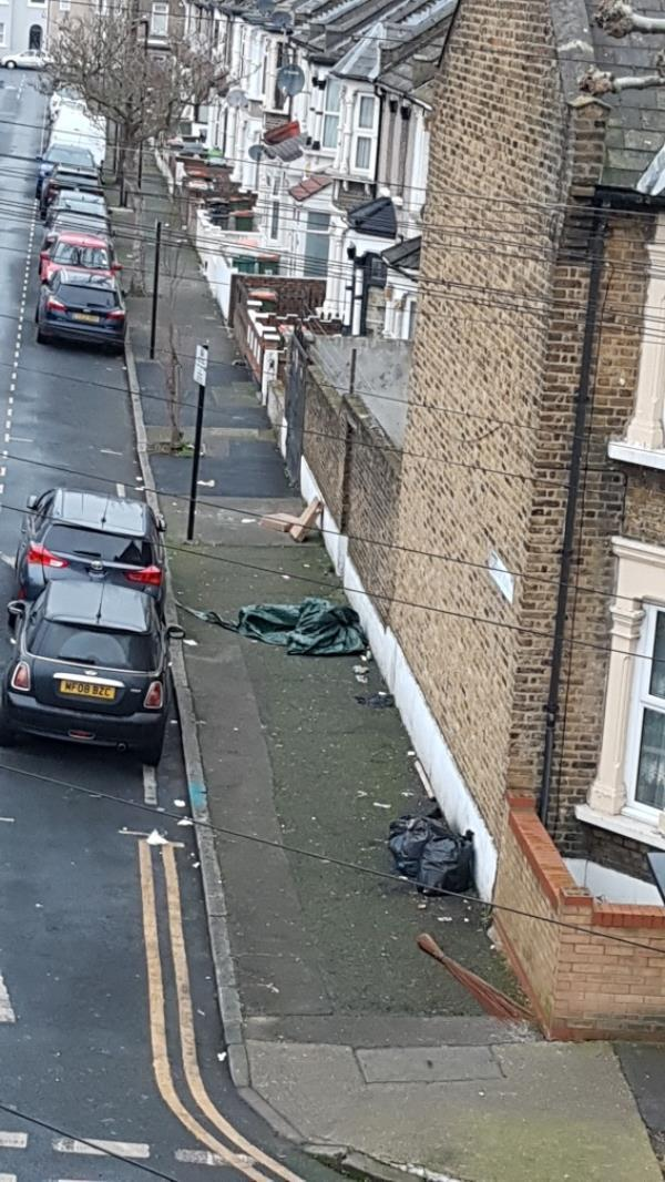 what is the point to report this if nothing is done. we have this problem for the last 2 years. everyday the tenants at 95grangewood street dump rubbish at that location and NOTHING IS DONE-1 St Bernard's Road, London, E6 1PG