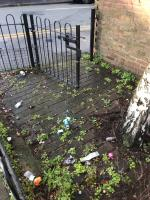 Loss of dumped rubbish and litter. And the gate is open so you don't have to be lazy and leave it for weeks and weeks on end.  image 2-9 Dowsett Road, London, N17 9DA