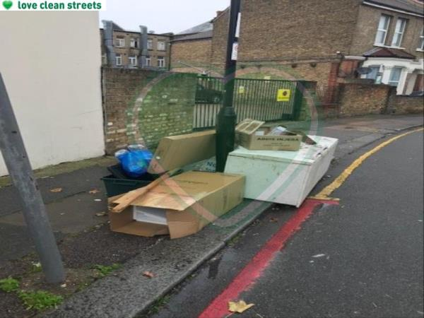 Please clear a fridge-65 Farley Road, London, SE6 2AA