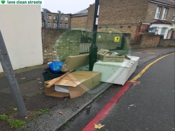 Please clear a fridge-65 Farley Road, London, SE6 2AA