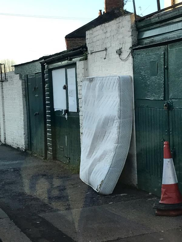 Mattress- St Fillans rd junction Brownhill rd-Ivydene Saint Fillans Road, London, SE6 1DG