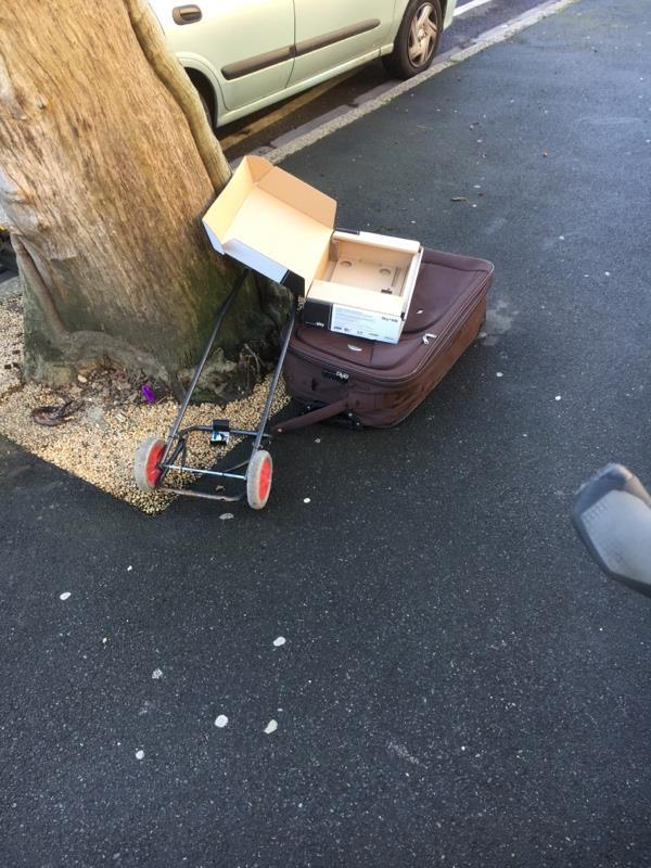 Can you please clear this flytipping -149 Earlham Grove, London, E7 9