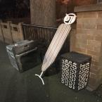Flytipping needs clearing.  -203a Evering Road, London, E5 8AN