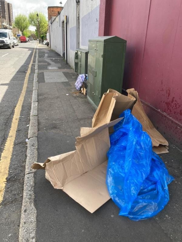 Fly-tip-7 Tudor Rd, London E6 1DP, UK