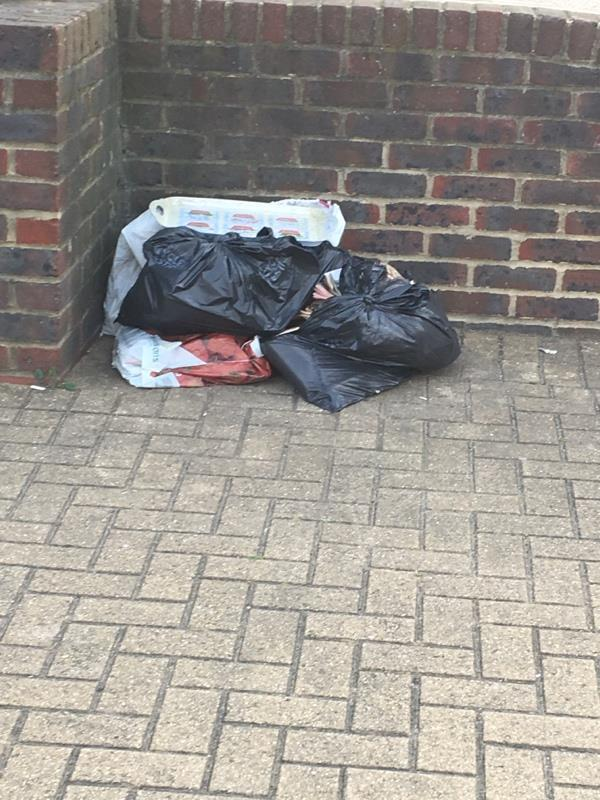 Flytipping -129 Leytonstone Rd, London E15 1JA, UK