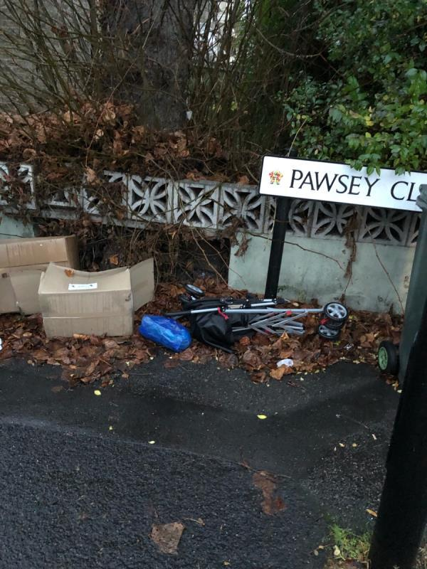 Flytipping-36c Plashet Road, London, E13 0PU