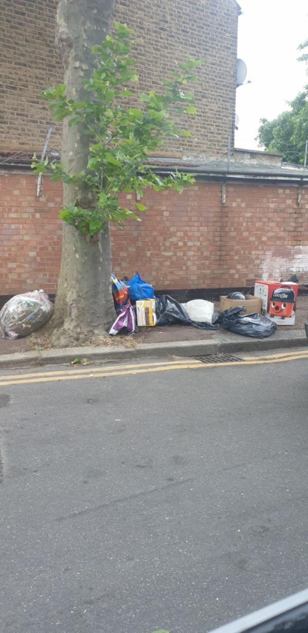 Fly tipping -42a Southend Road, East Ham, E6 2AA