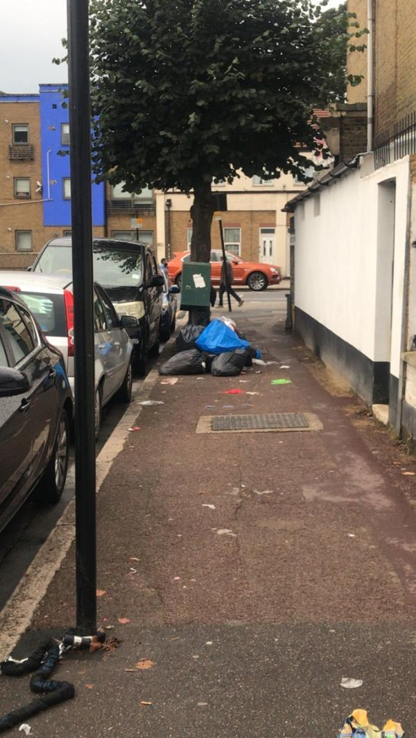 Another lot of rubbish-931C Romford Rd, London E12 5JT, UK