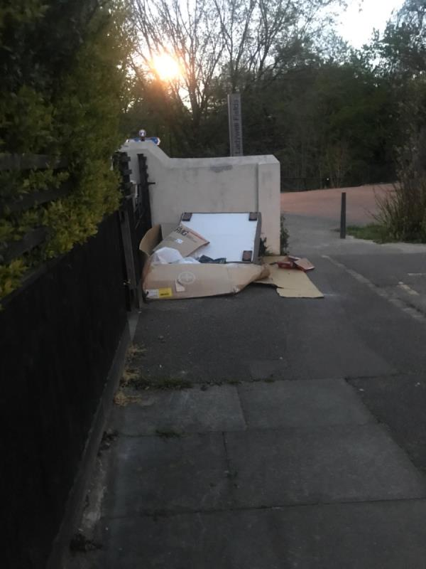 Dumped on street-30a Bournville Road, London, SE6 4RL