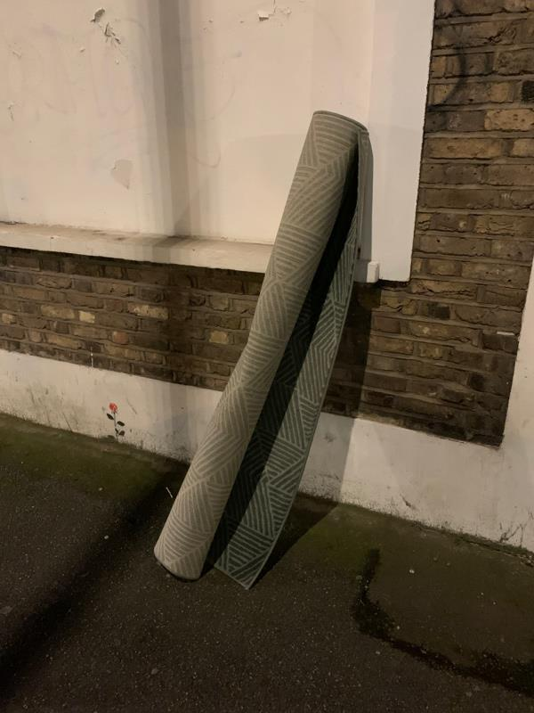 Fly tipping-44 Mortimer Road, London, N1 5SX
