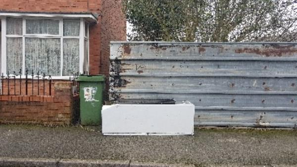 fridge has been tipped on bamford rd in pennfields near door no 3  image 1-6 Bamford Road, Wolverhampton, WV3 0AS