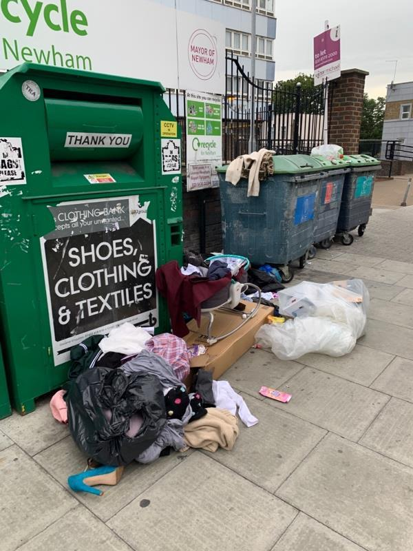 This is an EYESORE and the amount of resource used to constantly clean it up is RIDICULOUS -115A Leytonstone Rd, London E15 1JA, UK