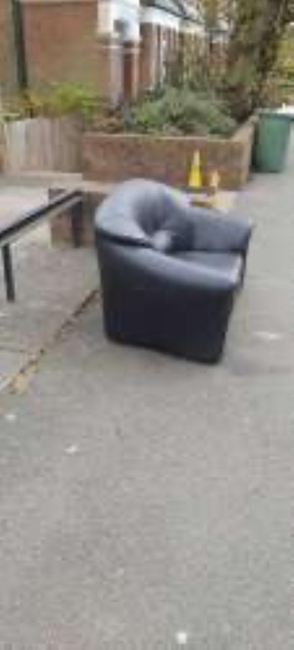 Please clear a sofa from outside The Firs-The Firs, 43 Venner Road, London, SE26 5EH