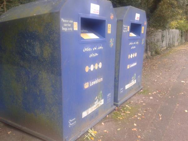 both clothing nanks are full-184 Beckenham Hill Road, Beckenham, BR3 1TH