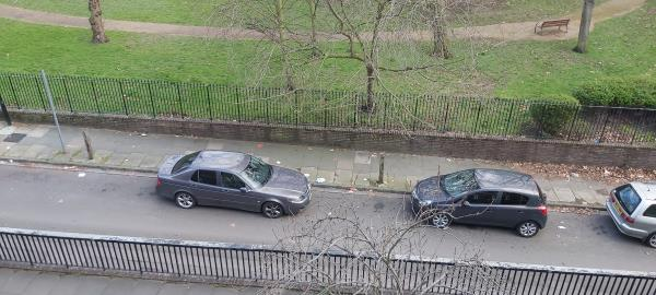 Streets absolutely filled with rubbish, not been swept since Christmas. -10-11 Longshore, London, SE8 3AU