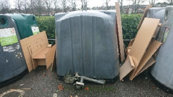 Furniture fly tipped removed -1 Palmer Park Avenue, Reading, RG6 1LF