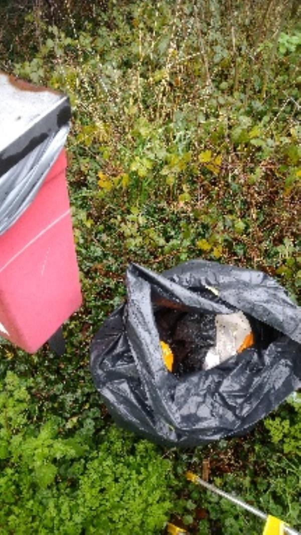 Flytipped household waste no evidence taken -73 Whitley Wood Road, Reading, RG2 8HY
