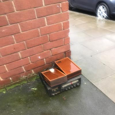 Flytipping needs clearing.  -9 Detmold Road, London, E5 9PR