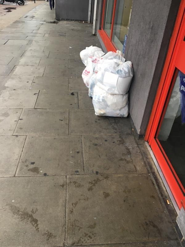 Flytipping -65B Leytonstone Rd, London E15 1JA, UK
