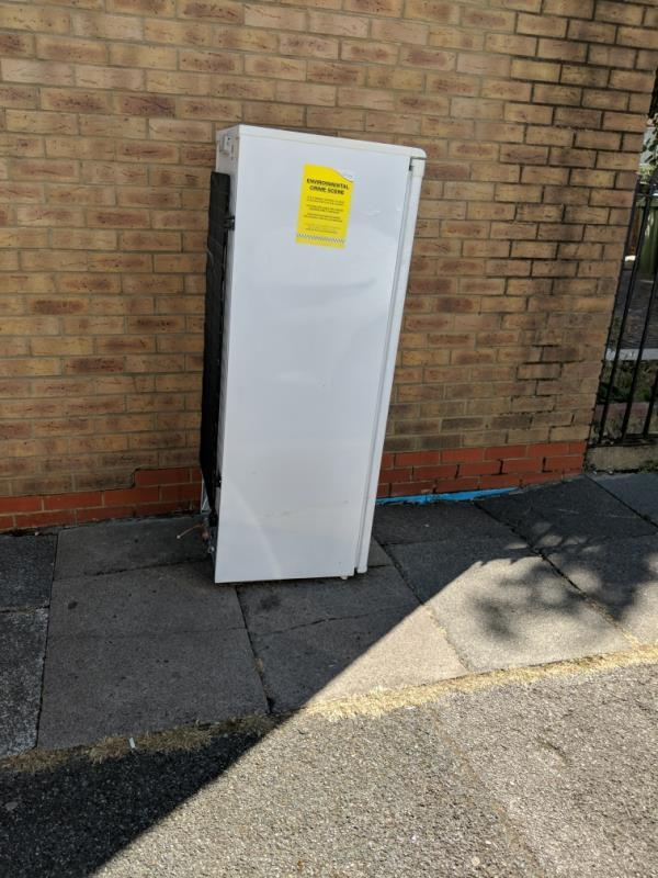 fridge freezer-14a Atherton Road, London, E7 9AJ