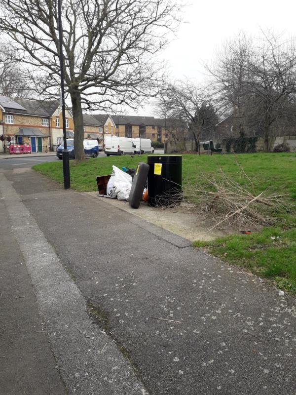 household waste-31 Streimer Road, London, E15 2RL