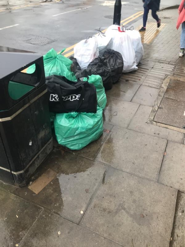 Fly tipping - personal info available I think -1 Downhills Way, Tottenham, N17 6AN