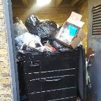 This is the bin storage area for Olympia House flats on Somerford Grove. It is in the alleyway between Somerford Grove and Shacklewell Row. It has been left open and overflowing with rubbish and putting out a smell since the beginning of the week. Disgusting for the children of Shacklewell Primary to have to walk by this every day. Please can you get the building management to address this issue.-29 Somerford Grove, London, N16 7TX