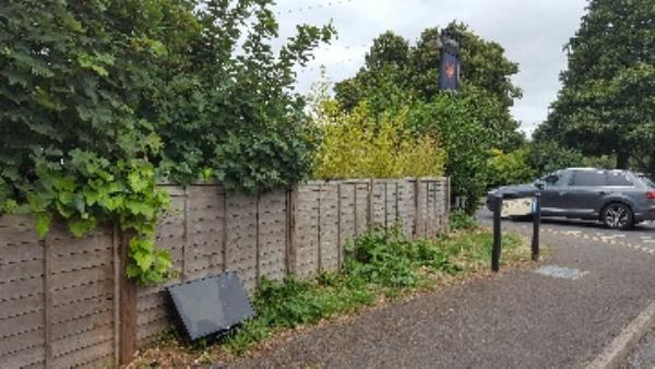 fly tipped tv-63 Gosbrook Road, Reading, RG4 8BN
