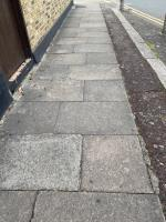 Glass all over the pavement on harberson road / close to caistor park rf image 1-57 Geere Road, London, E15 3PP