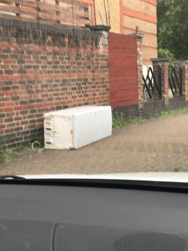 Fridge freezer-17 Kingfisher Street, London, E6 5JZ