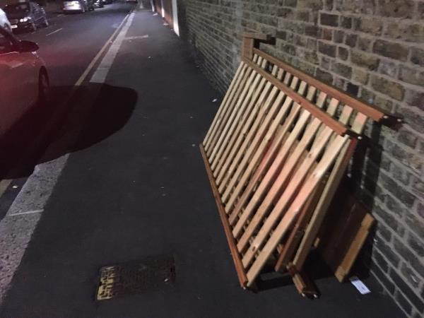 Bed frame-41 Forest Ln, London E15 1HA, UK