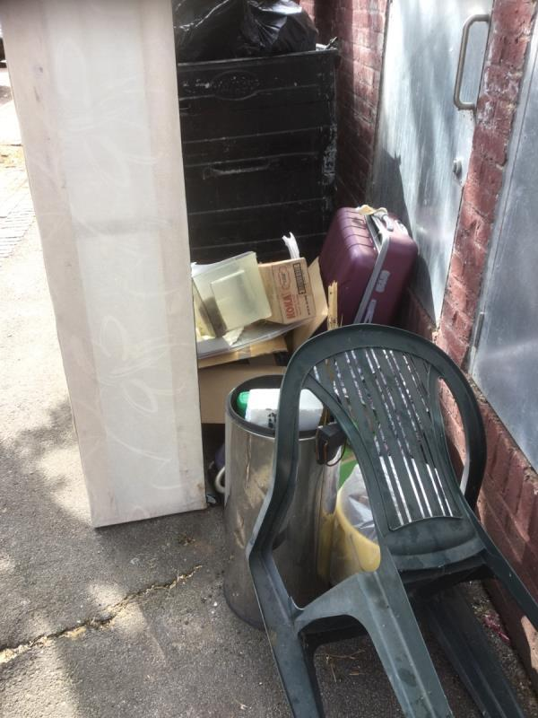 Opposite no 14 next to waste bins image 1-8 Lawson Close, Canning Town, E16 3LU