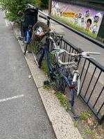 4 bikes attached to railing outside buttercups day nursery on old oak road  image 1-25 Old Oak Road, Acton, W3 7HN