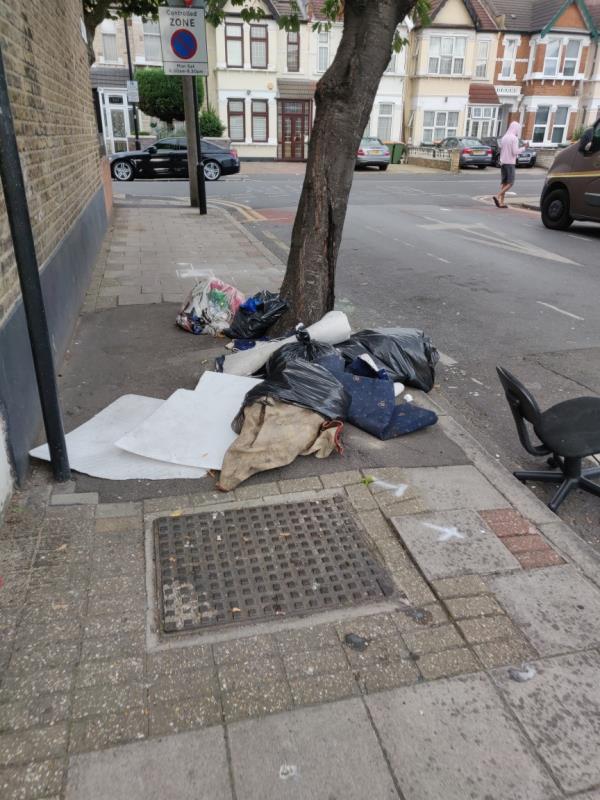 rubbish-105 Derby Road, Upton Park, E7 8NJ